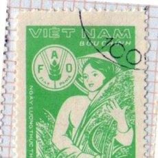 Francobolli: ASÍA.VIETNAM. DÍA MUNDIAL DE LA ALIMENTACIÓN. 1982-YT-332. USADO CON CHARNELA.. Lote 286162743