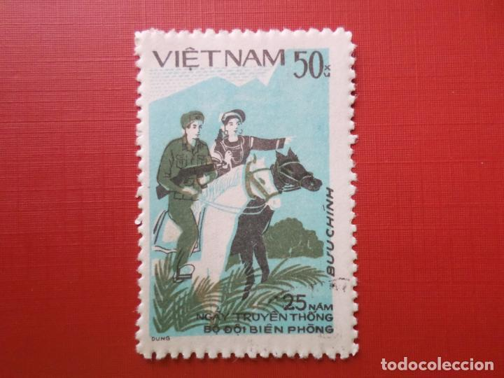 VIETNAM, SELLO USADO (Sellos - Extranjero - Asia - Vietnam)