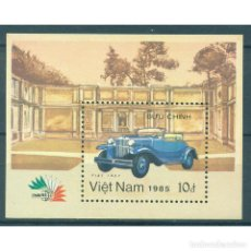 Sellos: VN-771 VIETNAM 1985 MNH CLASSIC CARS. Lote 293380403