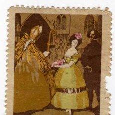 Sellos: VIÑETA - EXPOSICIÓN INTERNACIONAL DE BARCELONA 1929 - EL ARTE EN ESPAÑA. Lote 24831196