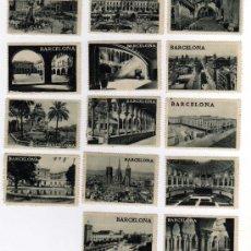 Sellos: LOTE DE 14 VIÑETAS - EXPOSICIÓN INTERNACIONAL DE BARCELONA 1929 . Lote 26266439