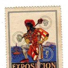Sellos: VIÑETA - EXPOSICIÓN INTERNACIONAL DE BARCELONA 1929. Lote 24782949