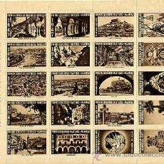 Sellos: MANRESA 1947. PRIMER CONGRESO FILATÉLICO. HOMENAJE AL FUNDADOR Y PRESIDENTE DE I.C.F. DON ENRIQUE.... Lote 10844784