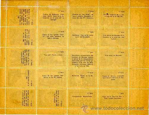 Sellos: MANRESA 1947. PRIMER CONGRESO FILATÉLICO. HOMENAJE AL FUNDADOR Y PRESIDENTE DE I.C.F. DON ENRIQUE... - Foto 2 - 10844784