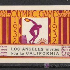 Timbres: 0191 EEUU LOS ANGELES DE CALIFORNIA OLYMPIC GAMES 1932 0191. Lote 11884671