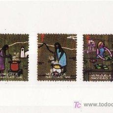 Sellos: VIÑETAS TUBERCULOSIS VENEZUELA NAVIDAD 1980. Lote 17784338