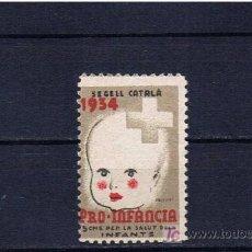 Sellos: 1934 SEGELL CATALA PRO-INFANCIA. Lote 19256429