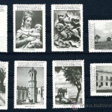 Sellos: VIÑETA VIÑETAS EXPOSICIÓN FILATÉLICA Y NUMISMÁTICA SABADELL 1948. Lote 20214763