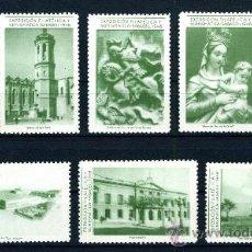 Sellos: VIÑETA VIÑETAS EXPOSICIÓN FILATÉLICA Y NUMISMÁTICA SABADELL 1948. Lote 20214840