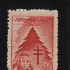 Stamps - S-2698- MEXICO. VIÑETA. COMITE NACIONAL LUCHA CONTRA TUBERCULOSIS. PRO TUBERCULOSOS CRUZ DE LORENA. - 23192256
