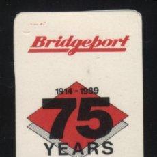 Sellos: S-2739- VIÑETA. BRIDGEPORT 1914-1989. 75 YEARS.. Lote 23425370