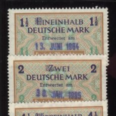 Stamps - S-2942- ALEMANIA. GERMANY. SELLOS FISCALES. DEUTSCHE WECHSELSTEUR. - 24222652