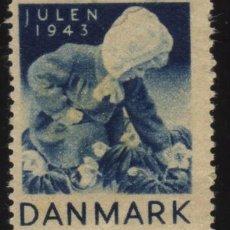 Sellos: S-4610- DINAMARCA. DANMARK. VIÑETA JULEN 1943.. Lote 30852853