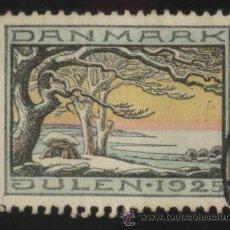 Sellos: S-4824- DINAMARCA. DANMARK. VIÑETA. JULEN 1925.. Lote 31916825