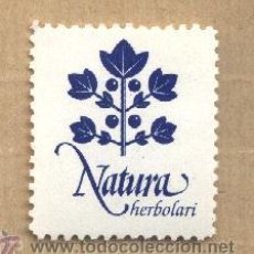 Sellos: VIÑETA NATURA HERBOLARI. REUS. NUEVA CON GOMA.. Lote 32276878