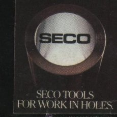 Sellos: S-5042- VIÑETA. SECO TOOLS. FOR WORK IN HOLES.. Lote 32398389
