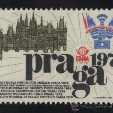 Timbres: S-5630- CHECOSLOVAQUIA. VIÑETA. PRAGA. WORLD POSTAGE STAMPS EXHIBITION 1978.. Lote 32757003