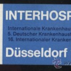 Stamps - S-5240- ALEMANIA. GERMANY. VIÑETA. DÜSELLDORF. INTERHOSPITAL 69. - 32809678