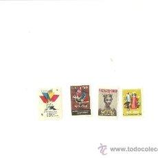 Sellos: 1063.- VIÑETAS-FIESTAS DE LA MERCED-FERIA INTERNACIONAL DE MUESTRAS DE BARCELONA. Lote 33735530