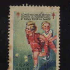Stamps - S-5613- FRANCE, COMITE NATIONAL DE DEFENSE CONTRE LA TUBERCULOSE. PRO TUBERCULOSOS. CRUZ DE LORENA. - 39407872