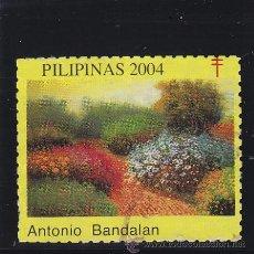 Francobolli: VIÑETA VIÑETAS : PILIPINAS AÑO 2004 ANTONIO BANDALAN CONTRA TUBERCULOSIS / PRO TUBERCULOSOS . Lote 40356122