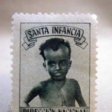 Sellos: VIÑETA, SANTA INFANCIA, DIRECCION NACIONAL, VITORIA, FOURNIER. Lote 44960920