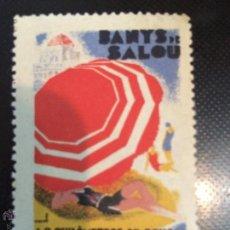 Sellos: VIÑETA BAÑOS DE SALOU. Lote 51059922