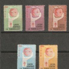 Sellos: LOTE A2- SELLOS VIÑETAS VENDRELL AÑO 1958 NUEVAS CON GOM-A AVA CONTRA TUBERCULOSIS. Lote 139687608