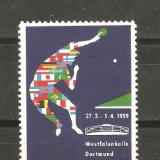 Sellos: LOTE C2-SELLOS SELLO VIÑETA PIN PON AÑO 1959. Lote 218701045