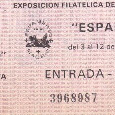 Sellos: ENTRADA ESPAMER 80. Lote 56541382