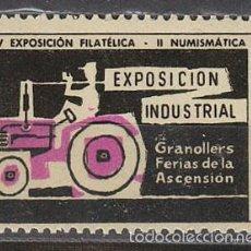 Sellos: 1957, VIÑETA DE GRANOLLERS, EXPOSICION INDUSTRIAL, NUEVA ***. Lote 57305099