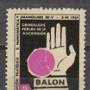 Sellos: 1957, VIÑETA GRANOLLERS, BALONMANO, NUEVA ***. Lote 72869511