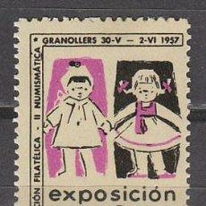 Sellos: 1957, VIÑETA GRANOLLERS, EXPOSICION DE MUÑECAS, NUEVA ***. Lote 57341752