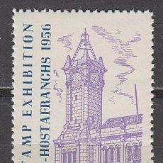 Sellos: AÑO 1956, VIÑETA DE LA EXPOSICION FILATELICA DE SAN MARTIN DE PROVENSALS, NUEVA ***. Lote 57383287