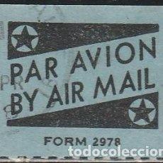 Sellos: CORREO AEREO. BY AIR MAIL.PAR AVION . VIÑETA .*,MH. Lote 66264658