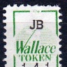 Sellos: VIÑETA : JB. WALLACE TOKEN. 141 .**.MNH (17-307) VER DESCRIPCION .. Lote 76349507