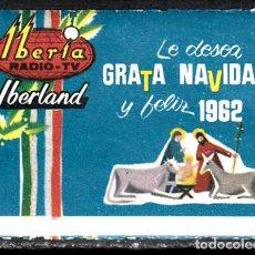 Sellos: VIÑETA RADIO TV IBERIA IBERLAND - NAVIDAD 1962. Lote 107836879