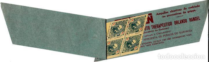 Sellos: carnet viñetas antituberculosos de BRASIL - año 1929- LIGA PAULISTA - Foto 2 - 117558359