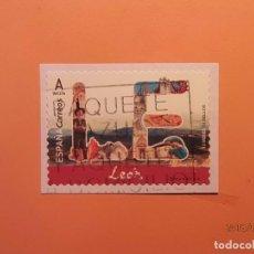 Sellos: ESPAÑA 2018 - 12 MESES 12 SELLOS - LEÓN - USADO. . Lote 122017099