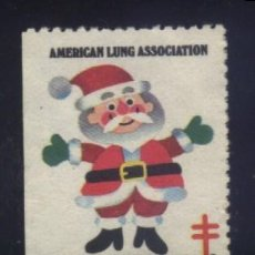 Sellos: S-2390- USA. VIÑETA. AMERICAN LUNG ASSOCIATION. GREETINGS 1984. PRO TUBERCULOSOS. CRUZ LORENA.. Lote 147566974