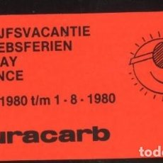 Sellos: S-2391- VIÑETA. DURACARB. BEDRIJFSVACANTIE. BETRIEBSFERIEN. HOLIDAY. VACANCES.1980.. Lote 26045886