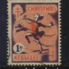 Sellos: S-3108- KERSFEES. CHRISTMAS 1948. PRO TUBERCULOSOS. CRUZ LORENA . Lote 156576738