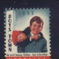 Sellos: S-3111- USA. NEBRASKA 1953. BOYS TOWN.. Lote 156615730