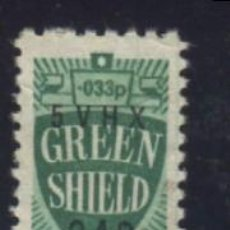 Sellos: S-3130- VIÑETA. GREEN SHIELD.. Lote 156737230