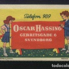 Sellos: S-3142- DINAMARCA. DANMARK. OSCAR HASSING. SVENDBORG.. Lote 156879178