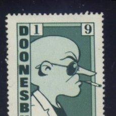 Stamps - S-3217- VIÑETA. USA. DOONESBURY. DUKE. 1990 - 157837138