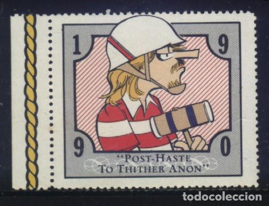 S-3405- VIÑETA. USA. DOONESBURY. POST- HASTE TO THITHER ANON. 1990 (Sellos - Extranjero - Viñetas)