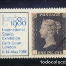 Sellos: S-3457- LODON 1980. STAMP EXHIBITION EARLS COURT LONDON. . Lote 160652726