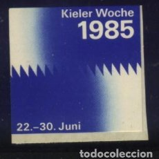 Stamps - S-3509- VIÑETA ALEMANIA. KIELER WOCHE 1985 - 161282934
