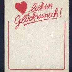 Briefmarken - S-3561- ALEMANIA. LICHEN GLÜCKWUNSCH. - 161524086